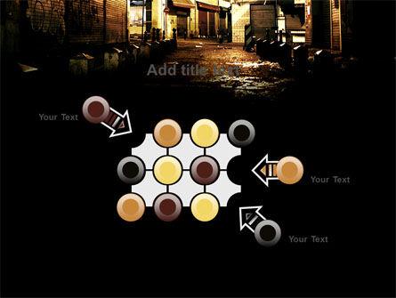 Night Street PowerPoint Template Slide 10