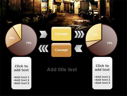 Night Street PowerPoint Template Slide 16