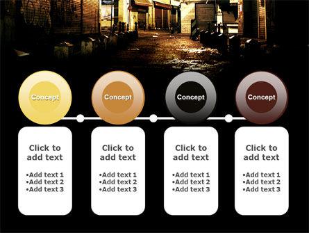Night Street PowerPoint Template Slide 5