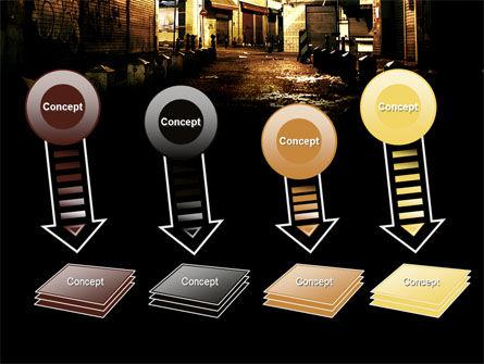 Night Street PowerPoint Template Slide 8