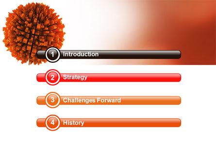 Urban Globe PowerPoint Template, Slide 3, 06737, 3D — PoweredTemplate.com