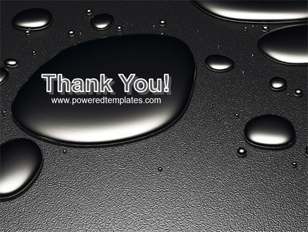 Dark Drops PowerPoint Template Slide 20