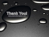 Dark Drops PowerPoint Template#20