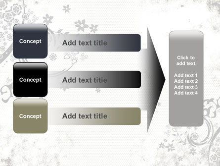 Dark Ornamented Theme PowerPoint Template Slide 12