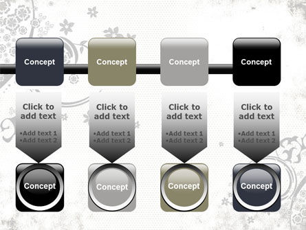 Dark Ornamented Theme PowerPoint Template Slide 18