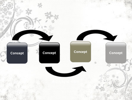 Dark Ornamented Theme PowerPoint Template Slide 4