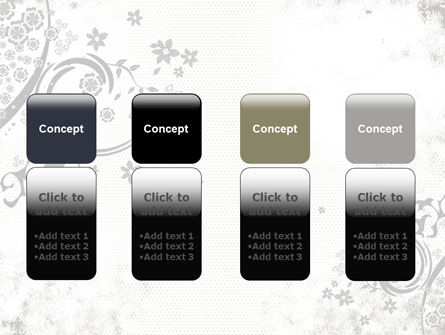 Dark Ornamented Theme PowerPoint Template Slide 5