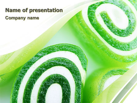 Jelly Candy PowerPoint Template, 06745, Food & Beverage — PoweredTemplate.com