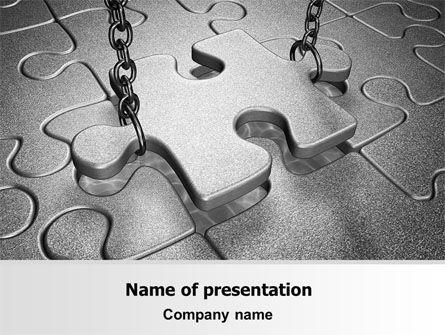 Jigsaw Adjustment PowerPoint Template