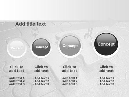 Jigsaw Adjustment PowerPoint Template Slide 13