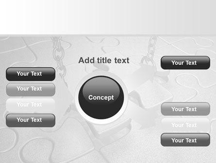 Jigsaw Adjustment PowerPoint Template Slide 14
