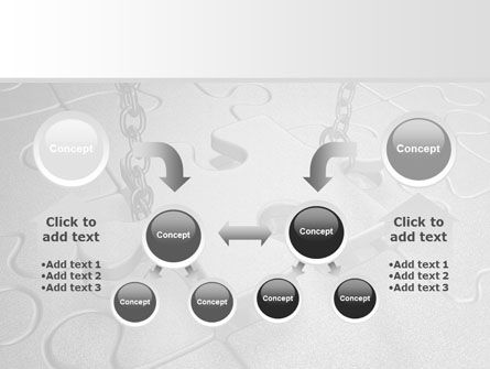 Jigsaw Adjustment PowerPoint Template Slide 19