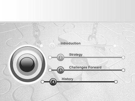 Jigsaw Adjustment PowerPoint Template Slide 3
