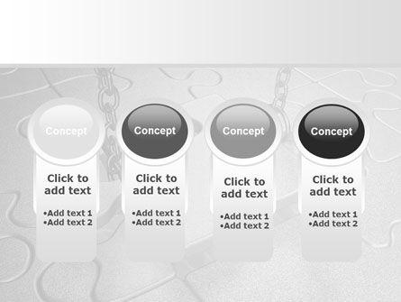 Jigsaw Adjustment PowerPoint Template Slide 5
