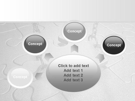 Jigsaw Adjustment PowerPoint Template Slide 7