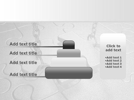 Jigsaw Adjustment PowerPoint Template Slide 8