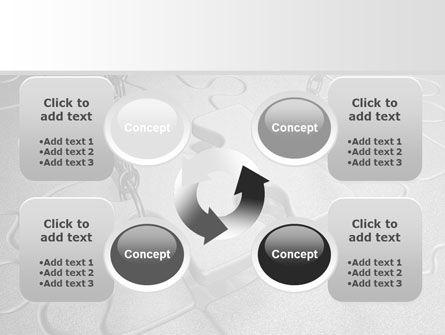 Jigsaw Adjustment PowerPoint Template Slide 9
