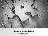 Consulting: Jigsaw Adjustment PowerPoint Template #06755
