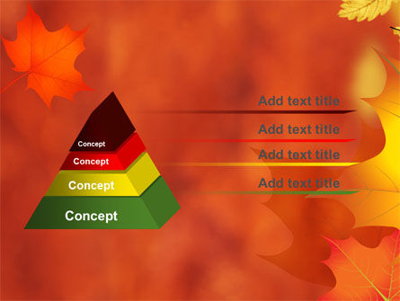 Autumn Leaves Theme PowerPoint Template, Slide 4, 06756, Nature & Environment — PoweredTemplate.com