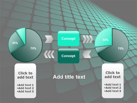 Green Grid Theme PowerPoint Template Slide 11