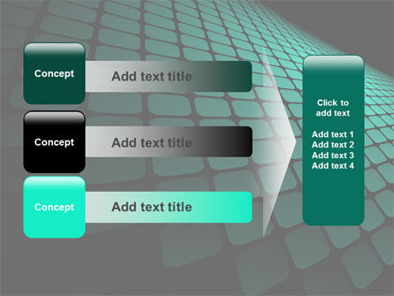 Green Grid Theme PowerPoint Template Slide 12