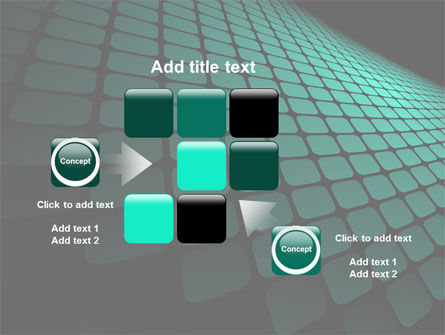 Green Grid Theme PowerPoint Template Slide 16