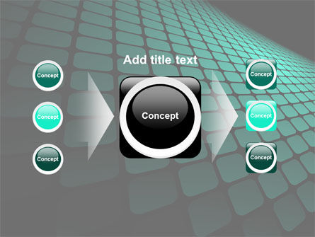 Green Grid Theme PowerPoint Template Slide 17