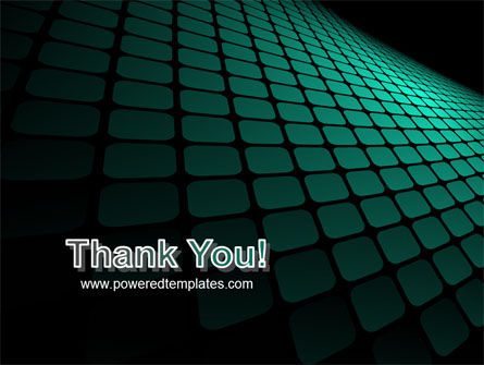 Green Grid Theme PowerPoint Template Slide 20