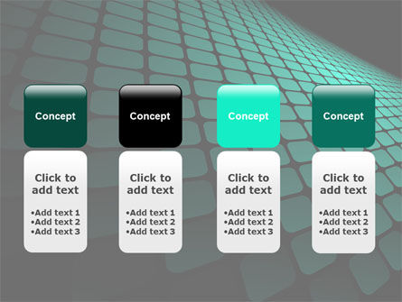 Green Grid Theme PowerPoint Template Slide 5