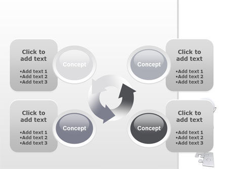 Puzzle Completion PowerPoint Template Slide 9