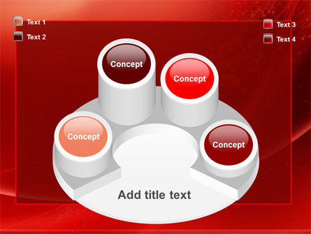 Red Shimmer PowerPoint Template Slide 12