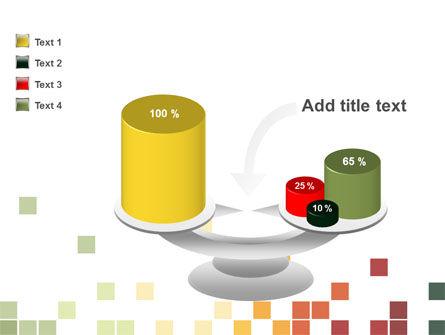 Pixel Mosaic PowerPoint Template Slide 10