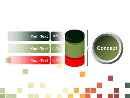 Pixel Mosaic PowerPoint Template Slide 11