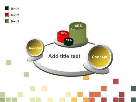 Pixel Mosaic PowerPoint Template Slide 16