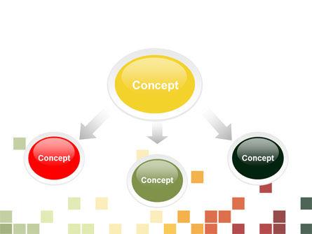 Pixel Mosaic PowerPoint Template, Slide 4, 06766, Abstract/Textures — PoweredTemplate.com