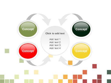 Pixel Mosaic PowerPoint Template Slide 6