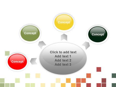 Pixel Mosaic PowerPoint Template Slide 7