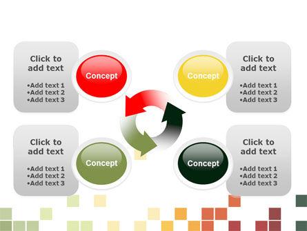 Pixel Mosaic PowerPoint Template Slide 9