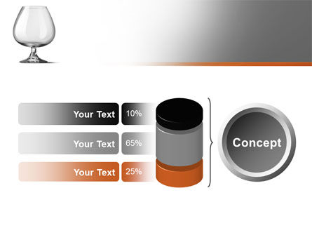 Cognac Glass PowerPoint Template Slide 11