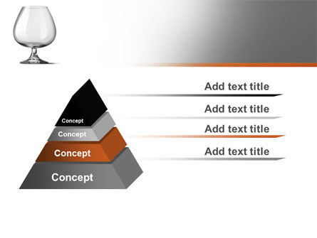 Cognac Glass PowerPoint Template Slide 12