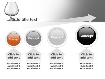 Cognac Glass PowerPoint Template Slide 13