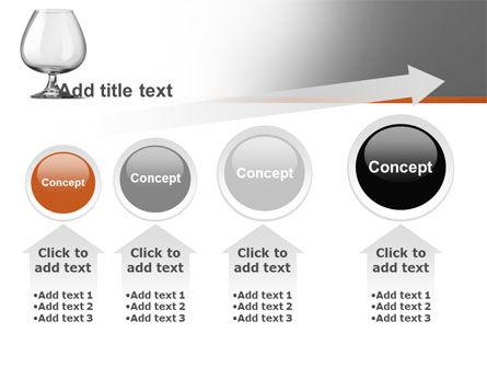 Cognac Glass PowerPoint Template Slide 13