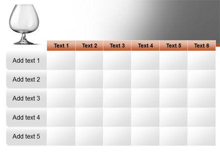 Cognac Glass PowerPoint Template Slide 15