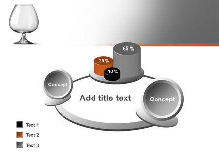 Cognac Glass PowerPoint Template Slide 16