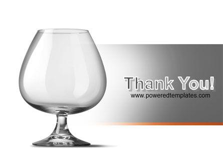 Cognac Glass PowerPoint Template Slide 20