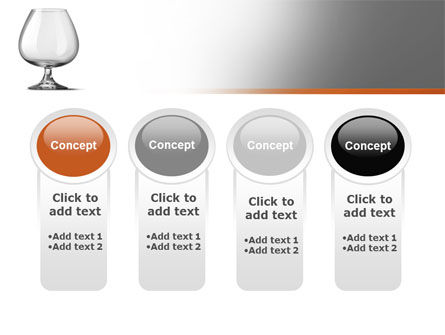 Cognac Glass PowerPoint Template Slide 5