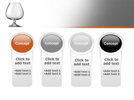 Cognac Glass PowerPoint Template Slide 5