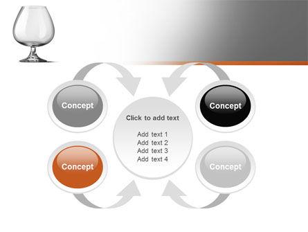 Cognac Glass PowerPoint Template Slide 6