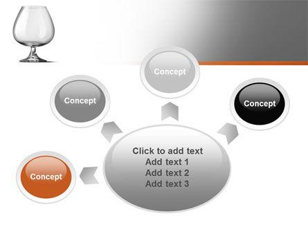 Cognac Glass PowerPoint Template Slide 7
