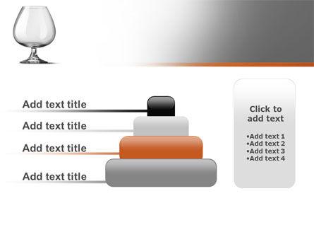 Cognac Glass PowerPoint Template Slide 8